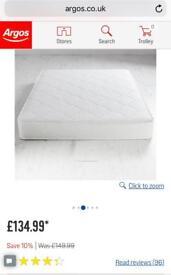 Airsprung mattress memory foam top (small double)