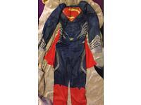 boys Superman fancy dress / dress up costume 7-8 years