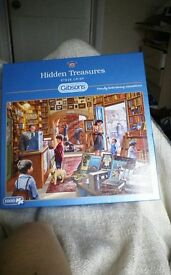 Hidden Treasures jigsaw 1000 pieces