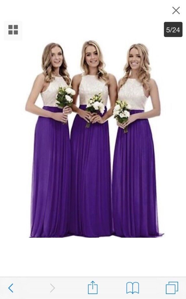 Purple bridesmaid dresses | in Prestonpans, East Lothian | Gumtree
