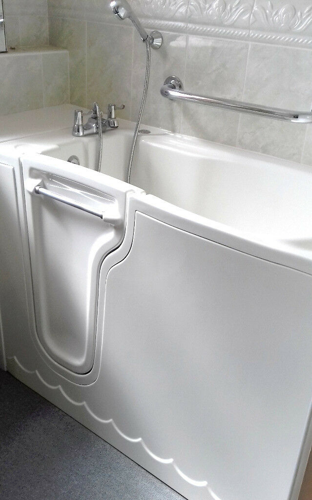 Mobility Disabled Spa Bath, walk in jacuzzi hot tub oap sit down ...