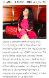 6d0d72f9f6a935 C H A N E L inspired classic handbag Minaj Gucci Armani Cartier Prada C C  Louboutin Fendi Westwood