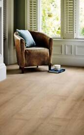 Polyflor Camero Vinyl Tile Cashmere Oak Flooring