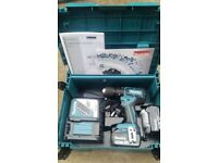 Brand New & Unused Makita DHP459RMJ 18v Cordless li-ion Combi Drill 2x 4Ah Batteries + Hard case