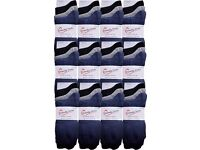 Wholesale Socks at a Bargain Price: Mens Plain Natural Cotton Socks 50 Packs (150 Pairs)
