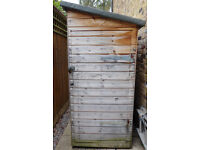 Almost-free good-quality shiplap garden Shed with 2 doors and 4 windows
