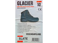 SCRUFFS GLACIER SAFETY BOOTS / HIKING BOOTS size 10 UK, very lightly used, beautiful condition