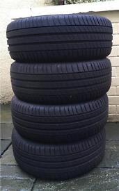 4x Michelin Primacy 3 - 205/45W17 tyres - Almost New