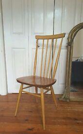 Vintage Ercol Elm Chair Mid Century
