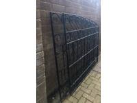 Ornate Wrought Iron Driveway Gates