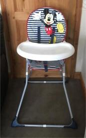 Highchair mickey mouse