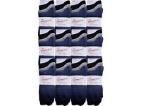 Wholesale Socks/ Job Lot/ Bargain Price: Mens Plain Natural Cotton Socks 50 Packs (150 Pairs)