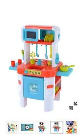 Elc toy kitchen full set with pots and pans