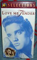 LOVE ME TENDER, 1966 B&W VHS NEW