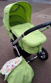 Mothercare My 3 in Green with Accessories REDUCED TO CLEAR!