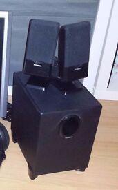 Technika 2.1 speakers