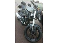 Yamaha MT 125 MT125 ABS not YZF R125 Aprilia RS125 Honda cbr125