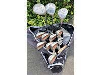 Complete Set of Clubs + Bag + Trolley + Accessories