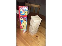 Jenga game - wooden stacking game