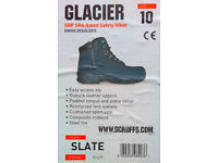 "Scruffs ""Glacier"" Safety Boots / Hiking Boots, size 10 UK, in virtually new, excellent condition"