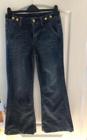 Flared jeans size 12