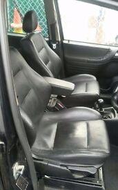 2005 Vauxhall Zafira Leather Interior (free fitting)