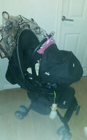 Joie Juva Travel System pushchair/car seat