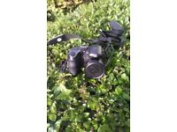 Ge x550 digital camera with case an strap and sd card