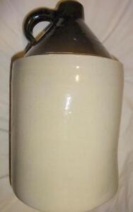 ROSEVILLE WHISKEY JUG / CROWN CROCK  / ANTIQUE ROBINSON RANSBOTTOM STONEWARE OHIO 1 gallon beauty Oakville 905 510 8720