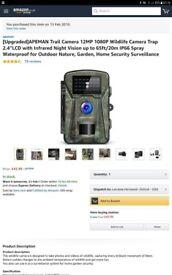 Wildlife Camera 1080p Home CCTV NEW