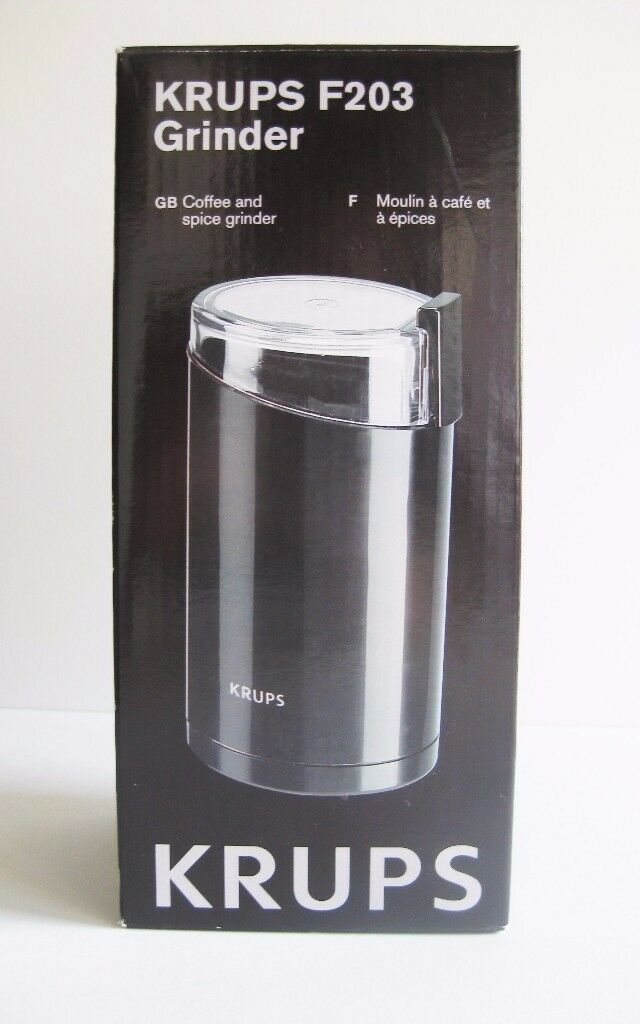 Brand New Krups Coffee And E Grinder In Box Never Used