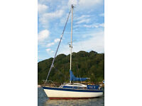 Newbridge navigator 19ft bilge keel with trailer