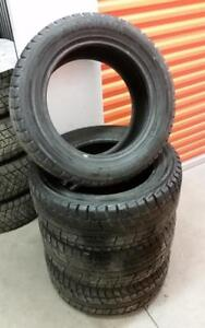(H194) Pneus Hiver - Winter Tires 255-55-18 Yokohama 9/32