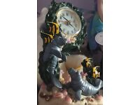 Sea life clock perfect condition collection only
