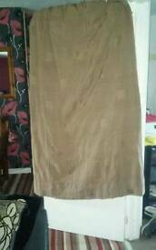 Fully lined curtains 66/90