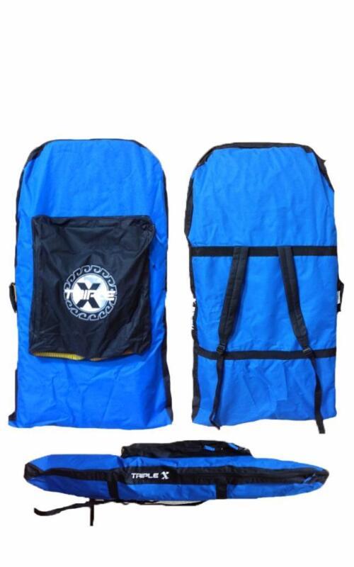 Triple X Standard Double Bodyboard Bag/Blue