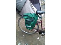 Raleigh caprice lovely bike 3 speed with saddle bag both brakes work tyres in good condition
