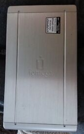 iOMEGA 500 GB EXTERNAL HARD DRIVE