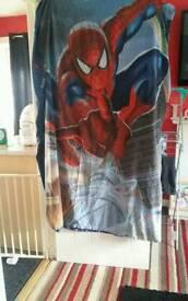 Spiderman single bedding
