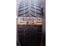 185-60-14 Barum Polaris 2 82T 4.5mm Part Worn Tyre