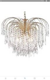 Rooney 5 light crystal chanderliers x3