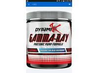 Dynamik GAMMA-RAY pre workout photonic pump kai greene bodybuilding