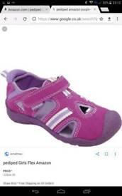 Pediped Amazon Purple/Lavender Sandals