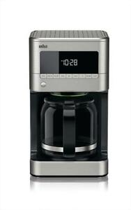 Braun 12 Cup-Digital Full Stainless Steel Coffee Maker KF7170SI