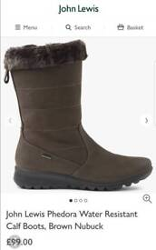 Womens Phedora boots from John Lewis. size 7