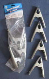 Strong Clamps Stall Clips Large x8