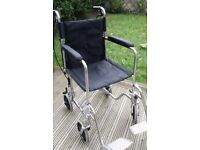 MOBILITY BUDDY LIGHTWEIGHT TRANSIT WHEELCHAIR