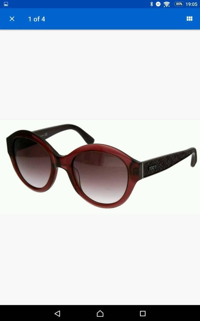 841c5117413 TODS Damen Bordeaux Designer Sunglasses