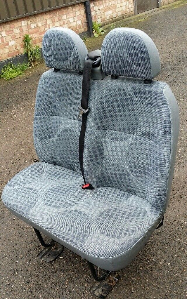 Ford Transit Double Seat Good Condition For Crew Van Conversion