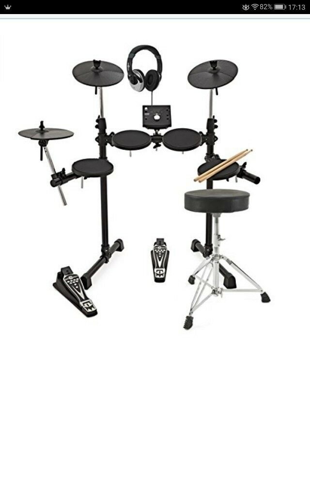 *Digital Drums compact electronic drumkit* Rarely used, less than 3 months old